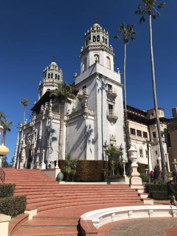 Hearst Castle, San Simeon, California, United States